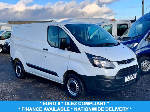 USED 2018 18 FORD TRANSIT CUSTOM 2.0 290 LR P/V 104 BHP