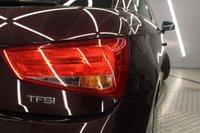 USED 2014 64 AUDI A1 1.4 TFSI SPORT 3d 122 BHP SHIRAZ RED, AIR/CON, ALLOYS, BLUETOOTH, FAB MPG..