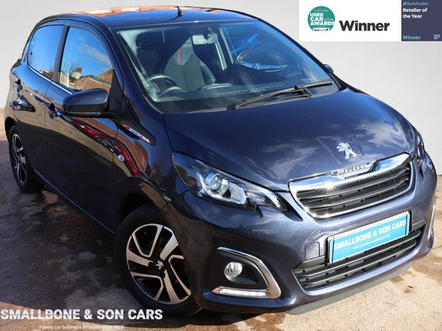 USED 2015 65 PEUGEOT 108 1.2 PURETECH ALLURE 5d 82 BHP * BUY ONLINE * FREE NATIONWIDE DELIVERY *