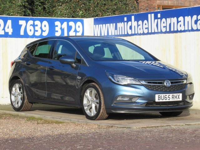 USED 2015 65 VAUXHALL ASTRA 1.6 SRI NAV CDTI S/S 5d 134 BHP VERY CLEAN CAR THROUGHOUT.