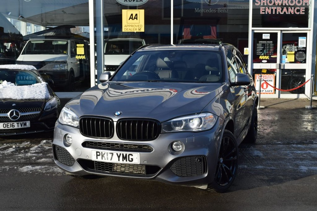 USED 2017 17 BMW X5 3.0 XDRIVE40D M SPORT 5d 309 BHP *SEVEN SEATS*    FINANCE TODAY WITH NO DEPOSIT - SERVICE HISTORY