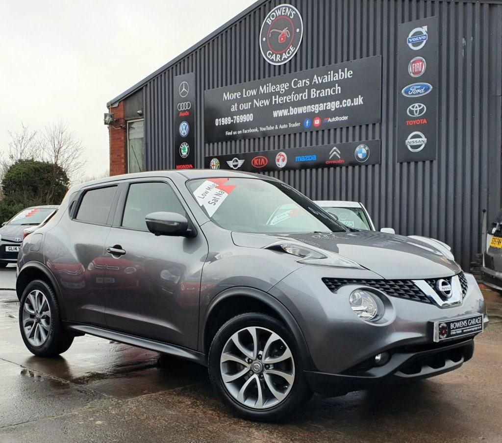 USED 2015 65 NISSAN JUKE 1.2 TEKNA DIG-T 5D 115 BHP 2 Owners - Low Miles - 4 Services - Sat Nav
