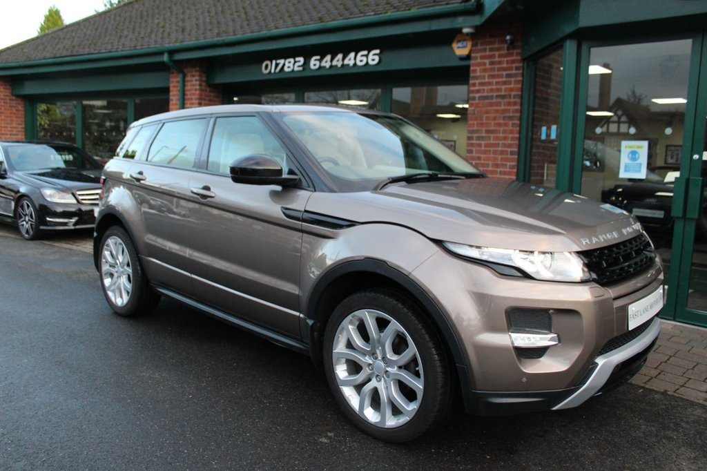 USED 2015 15 LAND ROVER RANGE ROVER EVOQUE 2.2 SD4 DYNAMIC 5d 190 BHP