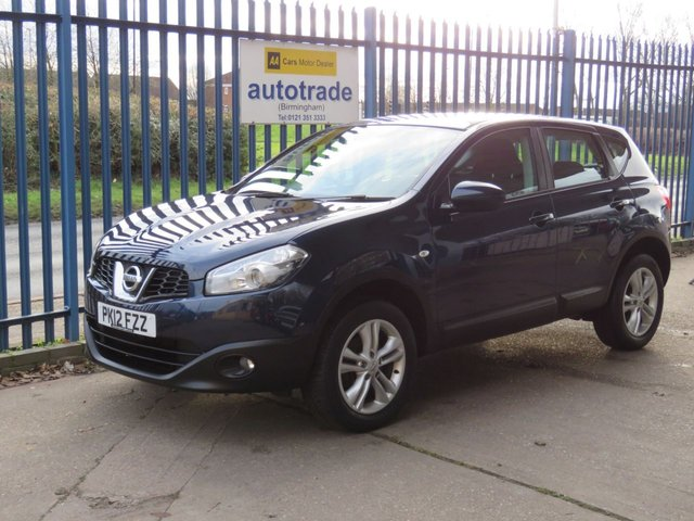 USED 2012 12 NISSAN QASHQAI 1.6 ACENTA 5d 117 BHP 1 Lady Owner From New & Service History