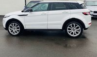 USED 2013 63 LAND ROVER RANGE ROVER EVOQUE 2.2 SD4 DYNAMIC LUX 5d 5 Seat Family SUV 4x4 AUTO Stunning in White with Massive High Spec