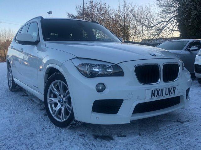 2011 11 BMW X1 2.0 XDRIVE20D M SPORT 5d AUTO 174 BHP