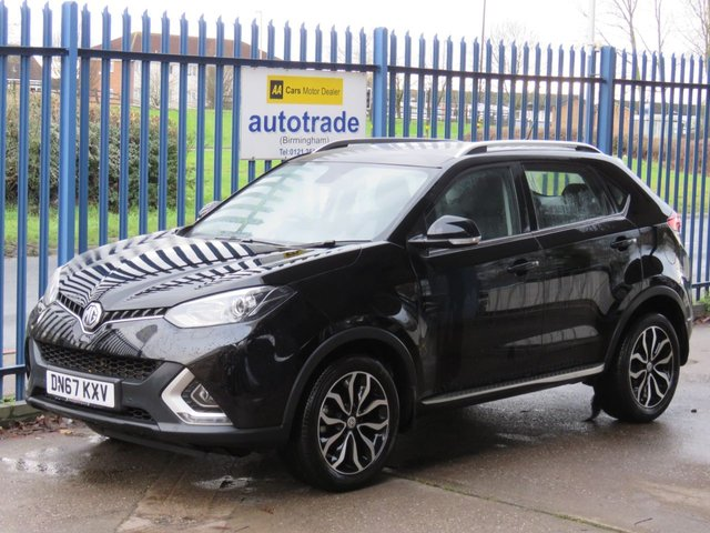 USED 2018 67 MG GS 1.5 EXCLUSIVE 5d 164 BHP Heated Full Leather & Colour Sat Nav