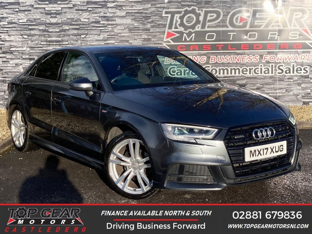 USED 2017 17 AUDI A3 2.0TDI 150BHP QUATTRO S LINE  ** WARRANTY INCLUDED, WARRANTED MILES, FINANCE AVAILABLE **