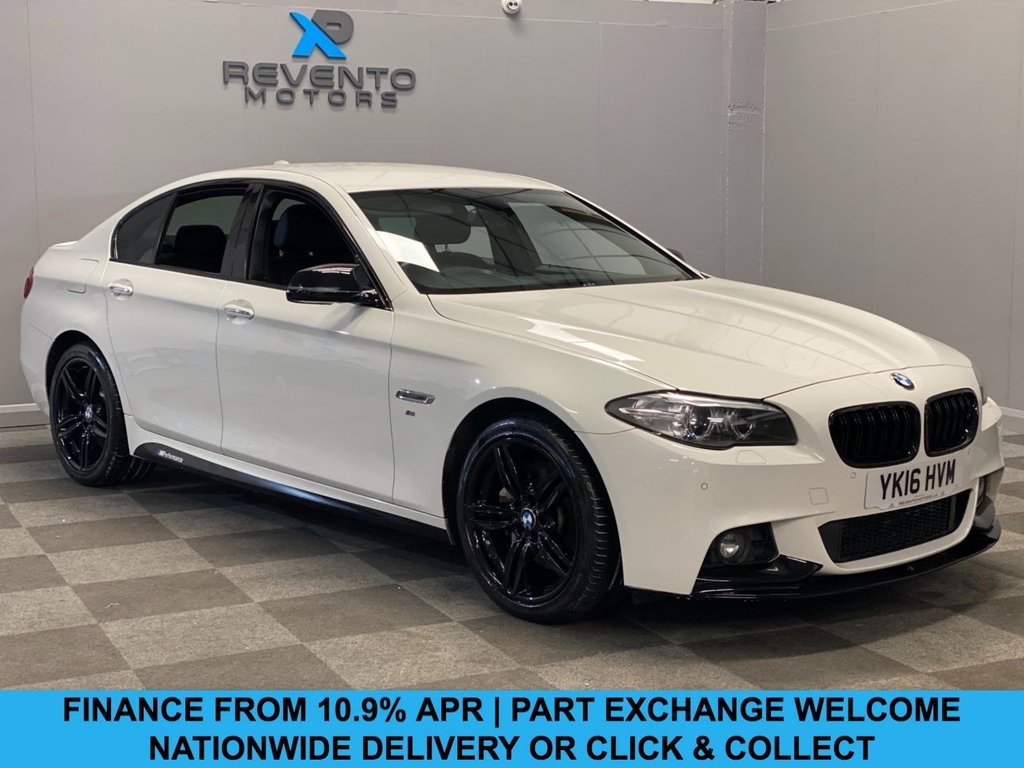 USED 2016 16 BMW 5 SERIES 3.0 535D M SPORT 4d 309 BHP CLICK/COLLECT | NATIONWIDE DELIVERY