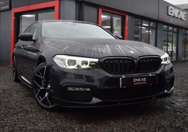 2018 18 BMW 5 SERIES 2.0 530E M SPORT 4d 249 BHP