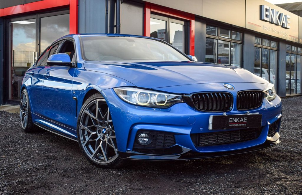 USED 2017 17 BMW 4 SERIES 2.0 420D M SPORT GRAN COUPE 4d 188 BHP VAT QUALIFYING