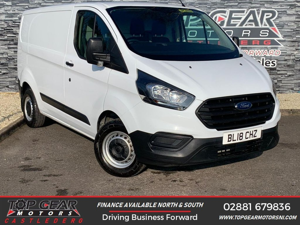 USED 2018 18 FORD TRANSIT CUSTOM 300 2.0TDCI 130 BHP L1 H1 **CHOICE OF 8** ** PLY LINED, WARRANTED MILES, FINANCE AVAILABLE, 130BHP **