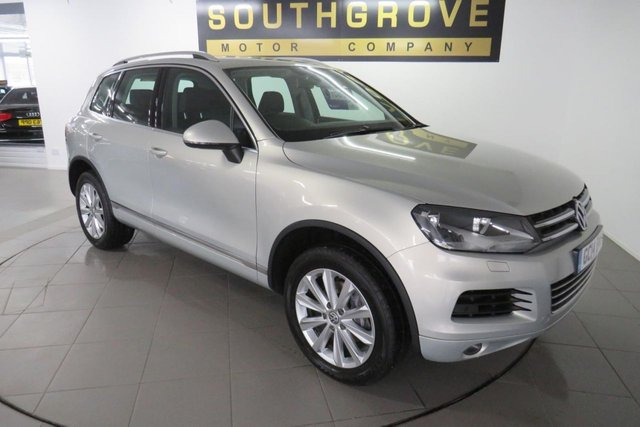 USED 2014 14 VOLKSWAGEN TOUAREG 3.0 V6 SE TDI BLUEMOTION TECHNOLOGY 5d 202 BHP