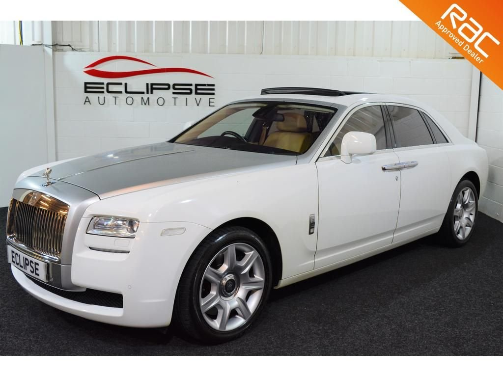 USED 2010 ROLLS ROYCE GHOST 6.6 V12 4d AUTO 564 BHP