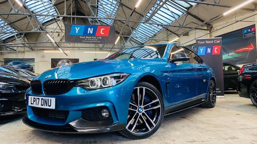 USED 2017 17 BMW 4 SERIES 3.0 435d M Sport Gran Coupe Sport Auto xDrive (s/s) 5dr PERFORMANCEKIT+360VIEW+DIGDASH