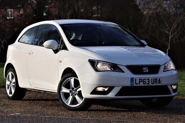 USED 2014 63 SEAT IBIZA 1.4 16v Toca SportCoupe 3dr 1 OWNER+£0 TAX+1YEAR MOT