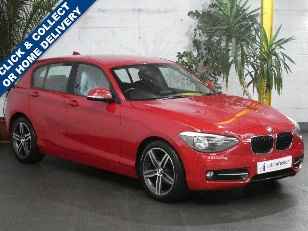 USED 2012 62 BMW 1 SERIES 2.0 116D SPORT 5d 114 BHP £30 ROAD TAX 3 OWNERS SERVICE HISTORY