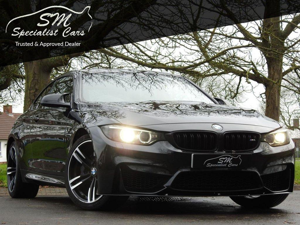 USED 2015 15 BMW M4 3.0 M4 2d 426 BHP HUGE SPEC HUD SAT NAV 360 CAM