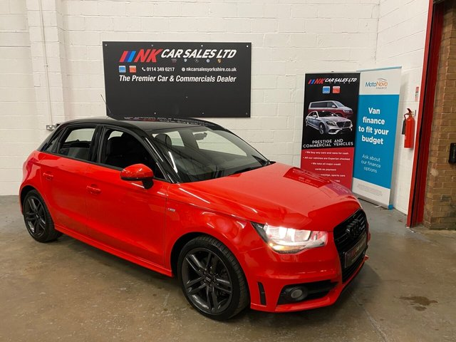 2013 13 AUDI A1 1.6 SPORTBACK TDI S LINE 5d 105 BH SOLD HELEN FROM  SWADLINCOTE