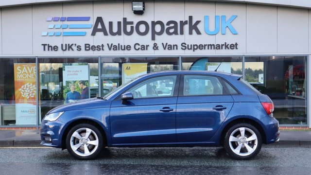 USED 2016 16 AUDI A1 1.4 SPORTBACK TFSI SPORT 5d 123 BHP . LOW DEPOSIT OR NO DEPOSIT FINANCE AVAILABLE . COMES USABILITY INSPECTED WITH 30 DAYS USABILITY WARRANTY + LOW COST 12 MONTHS ESSENTIALS WARRANTY AVAILABLE FROM ONLY £199 (VANS AND 4X4 £299) DETAILS ON REQUEST. ALWAYS DRIVING DOWN PRICES . BUY WITH CONFIDENCE . OVER 1000 GENUINE GREAT REVIEWS OVER ALL PLATFORMS FROM GOOD HONEST CUSTOMERS YOU CAN TRUST .