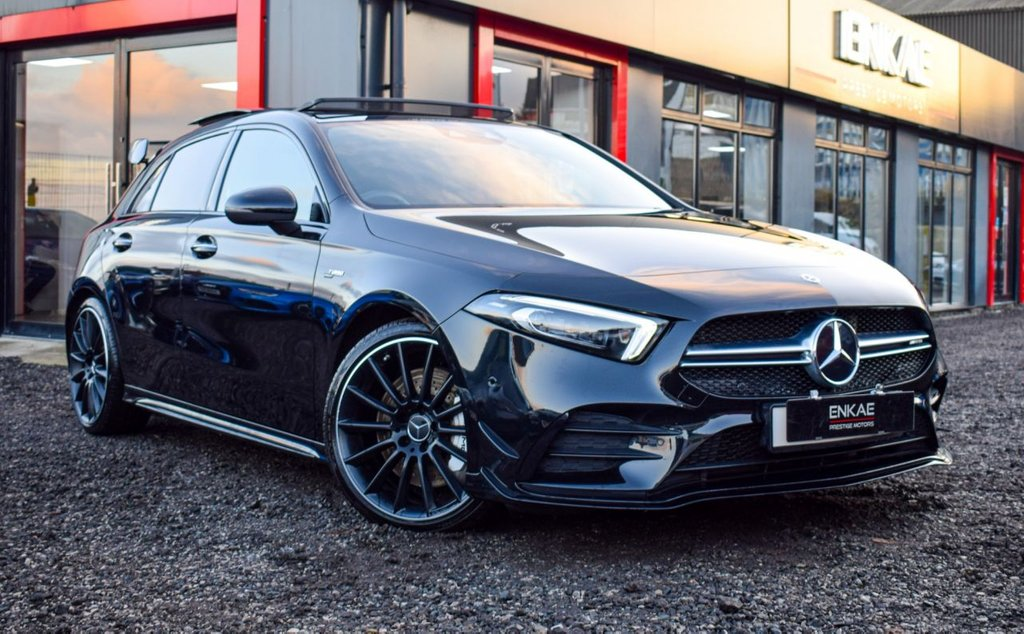 USED 2019 19 MERCEDES-BENZ A-CLASS 2.0 AMG A 35 4MATIC PREMIUM PLUS 5d 302 BHP