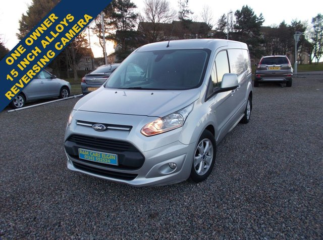 2014 64 FORD TRANSIT CONNECT 1.6 240 LIMITED P/V 114 BHP
