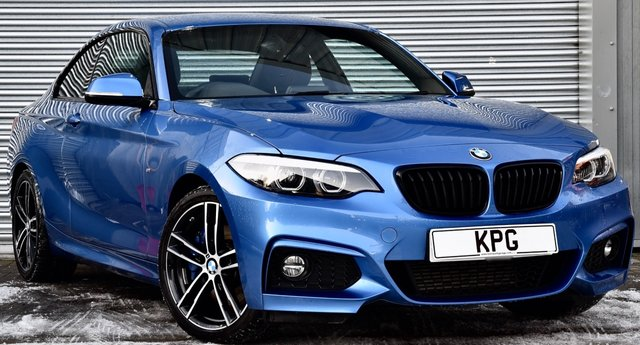 USED 2019 69 BMW 2 SERIES 2.0 218d M Sport Auto (s/s) 2dr Only 10k Miles, M sport + pack