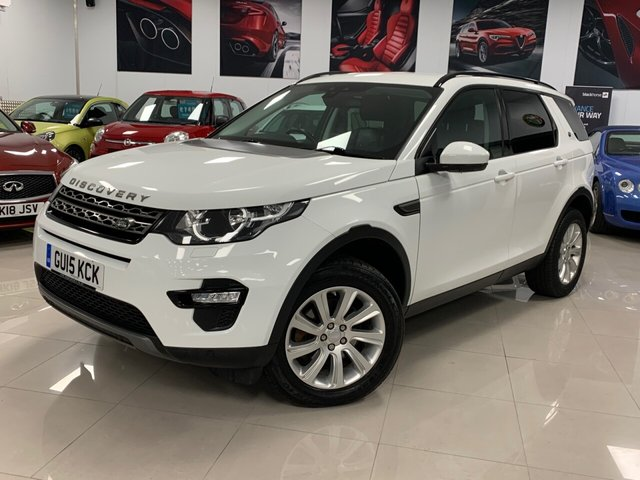 USED 2015 15 LAND ROVER DISCOVERY SPORT 2.2 SD4 SE TECH 5d 190 BHP ABSOLUTEY STUNNING DISCOVERY! MUST BE SEEN