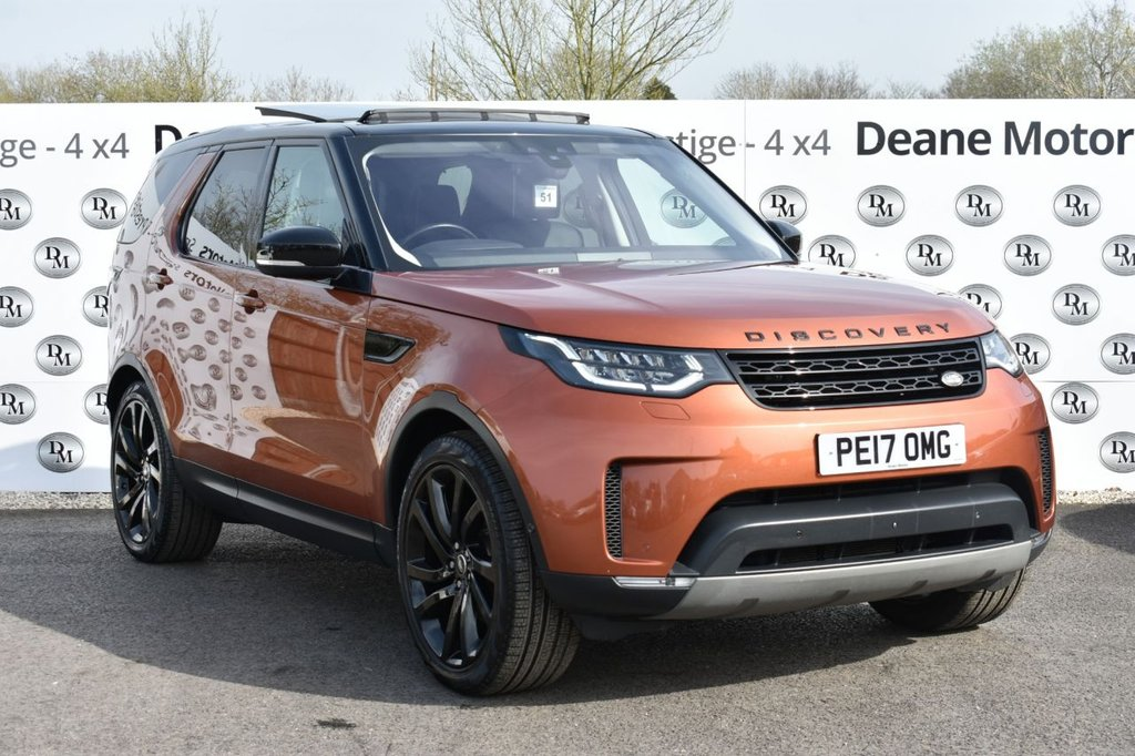 USED 2017 17 LAND ROVER DISCOVERY 3.0 TD6 FIRST EDITION 5d 255 BHP FABULOUS SPECIFICATION