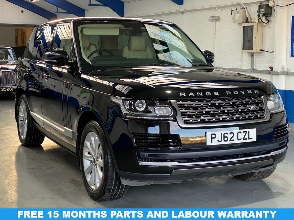 USED 2013 58 LAND ROVER RANGE ROVER 3.0 TDV6 VOGUE 5d 258 BHP *FULL HISTORY--PANORAMIC ROOF*