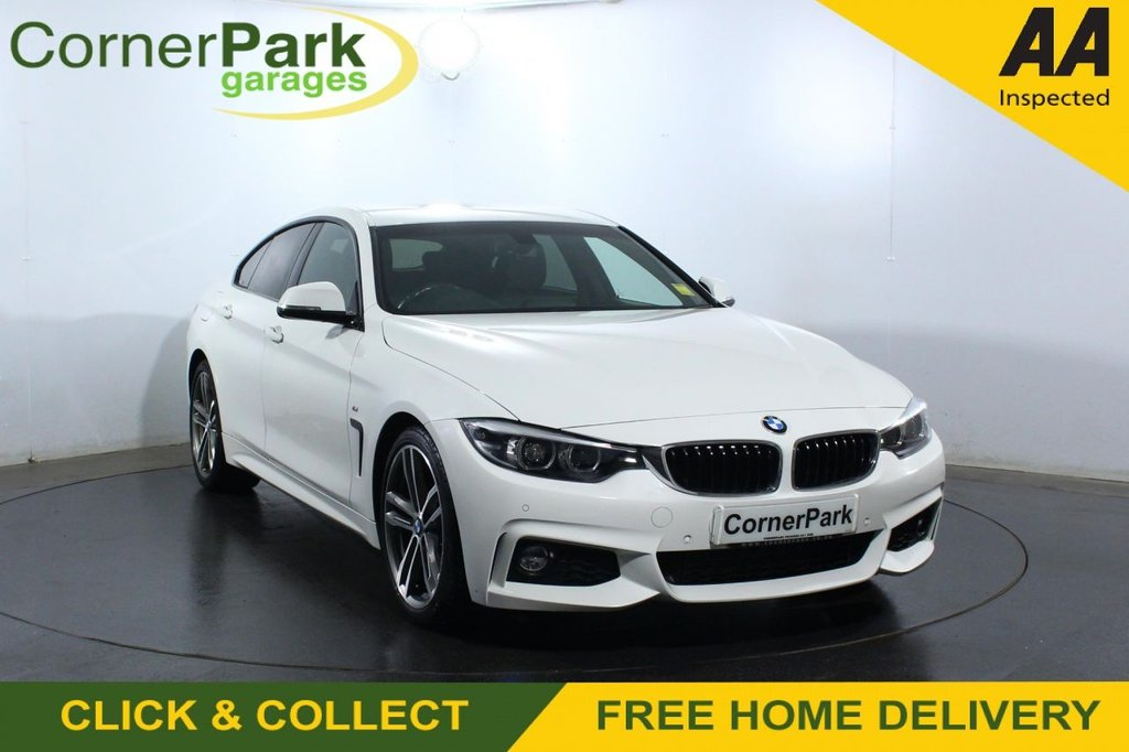 USED 2017 67 BMW 4 SERIES GRAN COUPE 2.0 420D M SPORT GRAN COUPE 4d 188 BHP COUPE