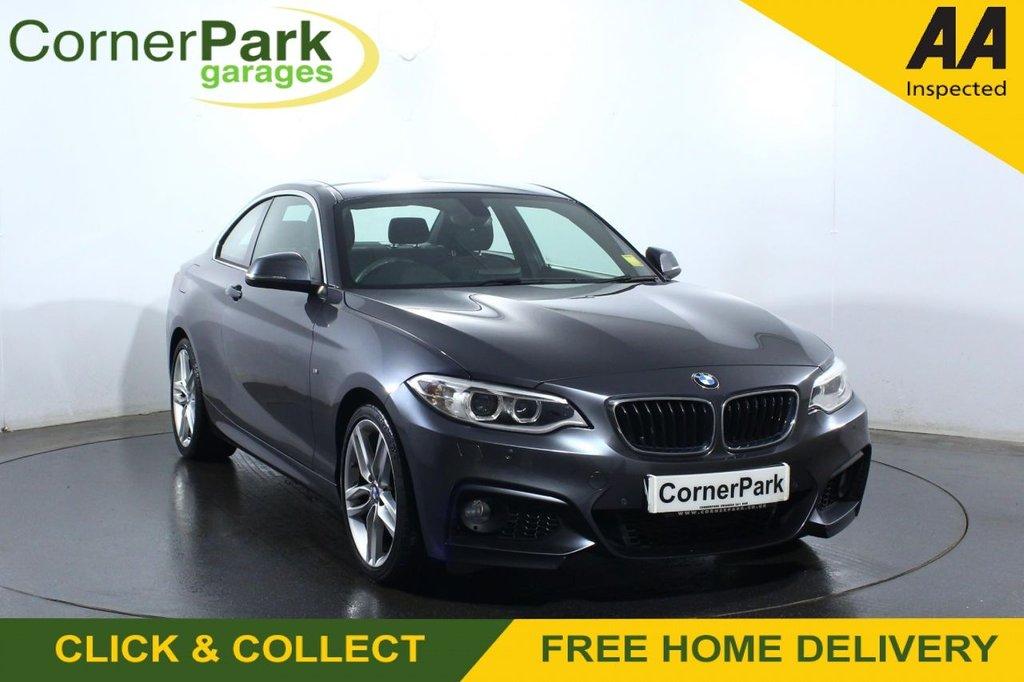 USED 2016 66 BMW 2 SERIES 2.0 218D M SPORT 2d 148 BHP