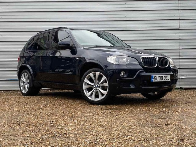 USED 2009 09 BMW X5 3.0 D M SPORT 5d 232 BHP 7 Seats -Pan Roof- Media -20""