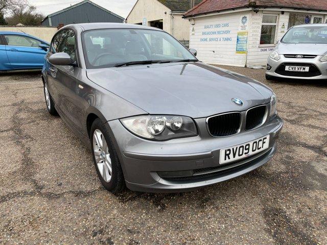 USED 2009 09 BMW 1 SERIES 2.0 118D SE 3d 141 BHP