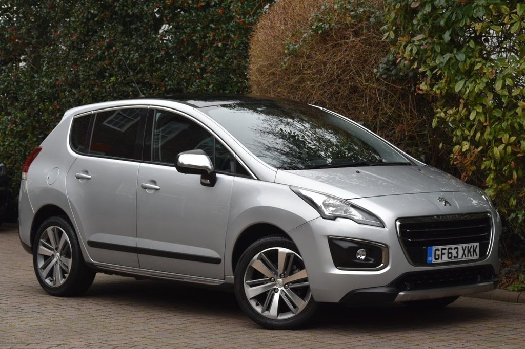 USED 2013 63 PEUGEOT 3008 1.6 E-HDI ALLURE 5d 115 BHP