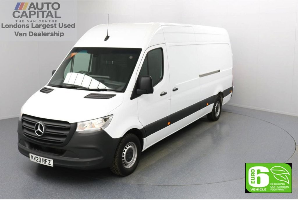 USED 2020 20 MERCEDES-BENZ SPRINTER 2.1 314 CDI RWD 141 BHP L3 H2 LWB Euro 6 Low Emission Keyless Go | Apple CarPlay | Android Auto | Auto Start-Stop system | RWD