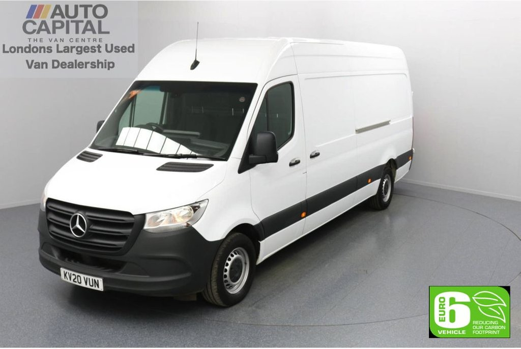 USED 2020 20 MERCEDES-BENZ SPRINTER 2.1 314 CDI RWD 141 BHP L3 H2 LWB Euro 6 Low Emission Keyless Go | Auto Start-Stop system | RWD | Rear Tow fitted