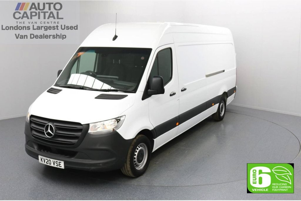 USED 2020 20 MERCEDES-BENZ SPRINTER 2.1 314 CDI RWD 141 BHP L3 H2 LWB Euro 6 Low Emission Apple CarPlay | Android Auto | MBUX Multimedia | 7-Inch Touch Screen | Active Brake Assist