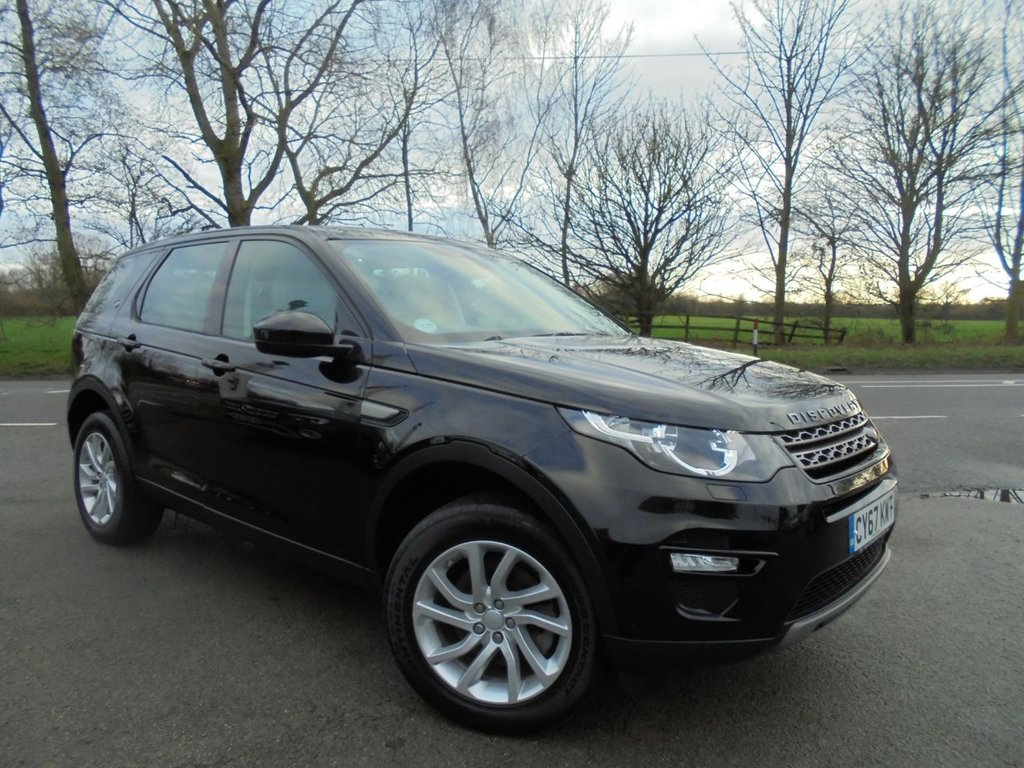 USED 2018 67 LAND ROVER DISCOVERY SPORT 2.0 TD4 SE TECH 5d 180 BHP