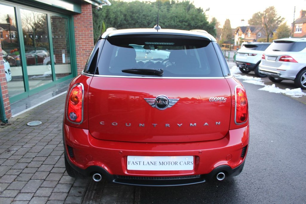 USED 2013 63 MINI COUNTRYMAN 1.6 COOPER S 5d 184 BHP