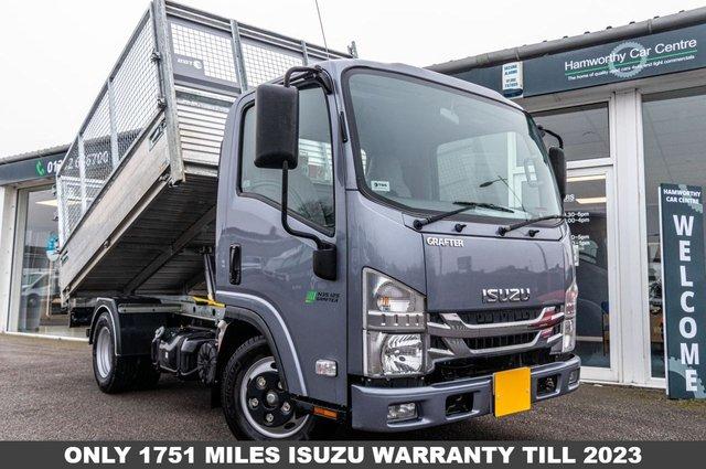 2020 70 ISUZU TRUCKS GRAFTER 1.9 N35.125T 121 BHP CAGED TIPPER