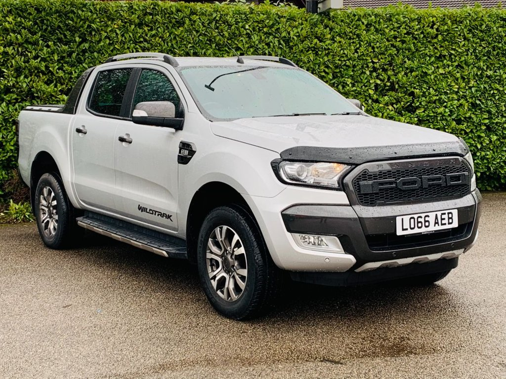 USED 2016 66 FORD RANGER 3.2 WILDTRAK 4X4 DCB TDCI 4d 197 BHP