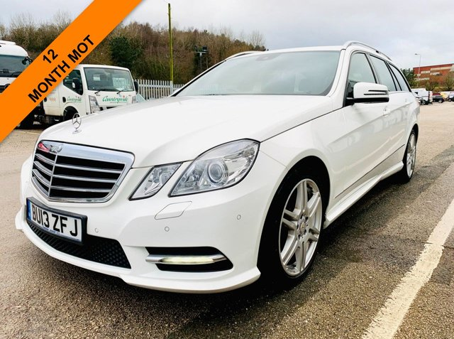 USED 2013 13 MERCEDES-BENZ E-CLASS 2.1 E250 CDI BLUEEFFICIENCY SPORT 5d 204 BHP SERVICE HISTORY, LAST JAN 2021 - 12 MONTH MOT - HEATED HALF LEATHER SPORT SEATS - BLUETOOTH CONNECTIVITY - TOW BAR FITTED - 3 MONTH WARRANTY