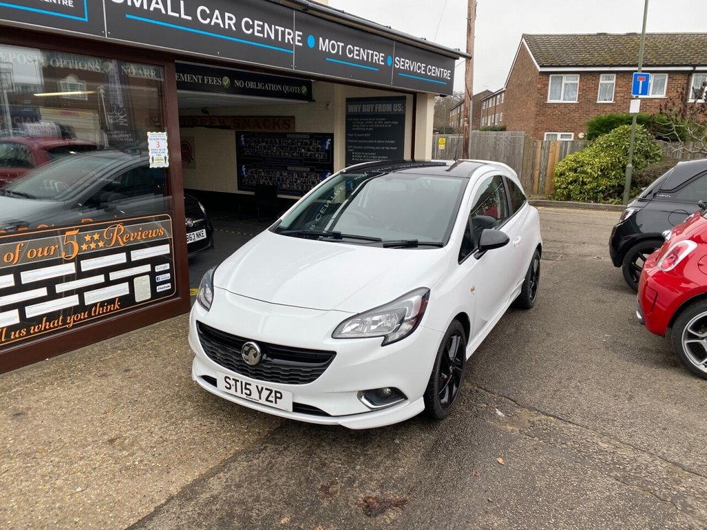 USED 2015 15 VAUXHALL CORSA 1.4 LIMITED EDITION 3d 89 BHP BLUETOOTH - USB - AUX - AIRCON - CRUISE CONTROL