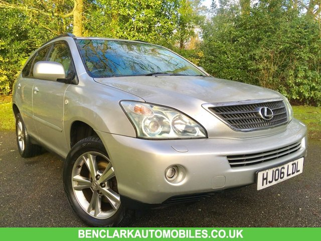 2006 06 LEXUS RX 3.3 400H SE CVT 5d AUTO 208 BHP //LONG MOT//NEW TYRES/PART EXCHANGE TO CLEAR////GREAT SERVICE HISTORY X13 STAMPS IN BOOK/// REAR PARKING CAMERA