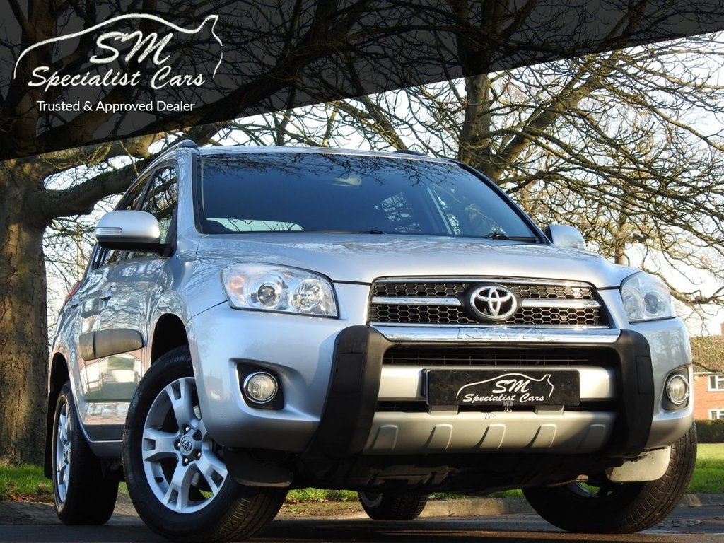 USED 2010 10 TOYOTA RAV4 2.2 XT-R D-4D  5d 148 BHP ONLY 55K FSH DRIVES SUPERB VGC