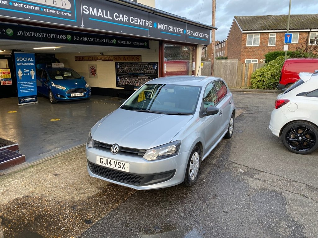 USED 2014 14 VOLKSWAGEN POLO 1.2 S A/C 5d 60 BHP AIRCON - AUX
