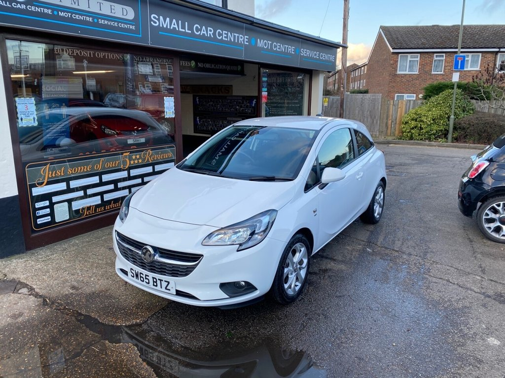 USED 2015 65 VAUXHALL CORSA 1.4 ENERGY AC ECOFLEX 3d 89 BHP BLUETOOTH - USB - AUX - AIRCON - HEATED SEATS & STEERING WHEEL