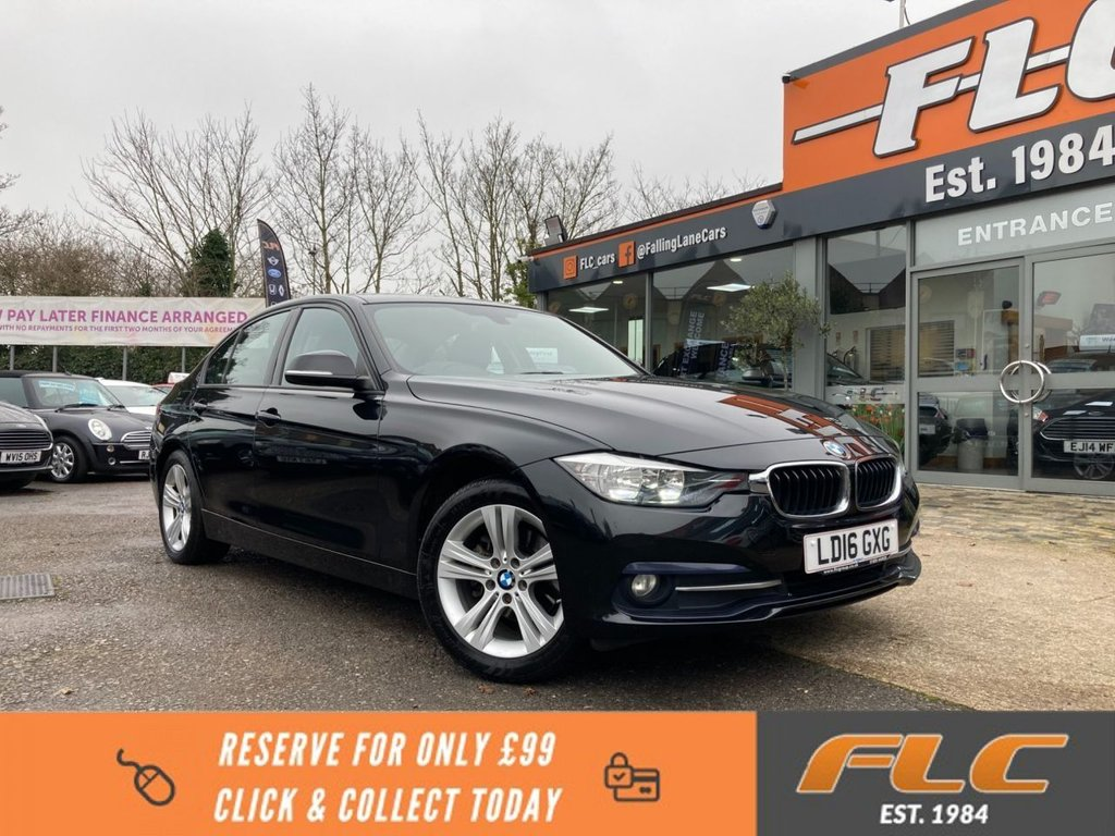 USED 2016 16 BMW 3 SERIES 1.5 318I SPORT 4d 135 BHP