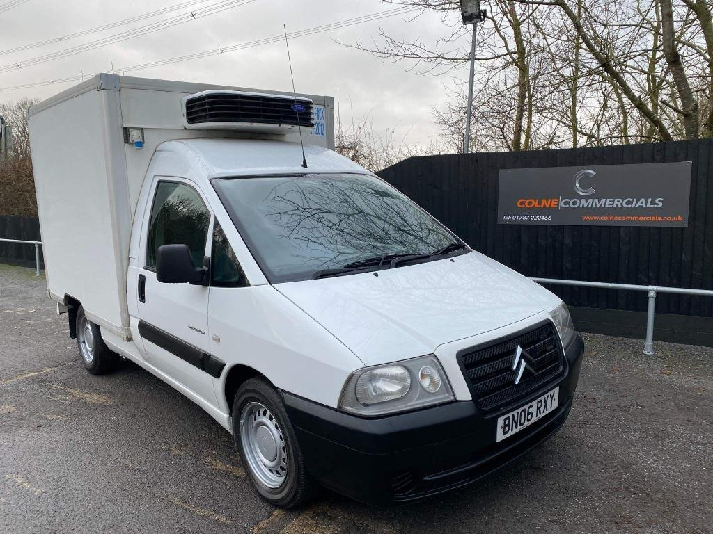 USED 2006 06 CITROEN DISPATCH 2.0 HDi 900 Refrigerated Van 3dr (Somers) **NO VAT FRIDGE VAN**